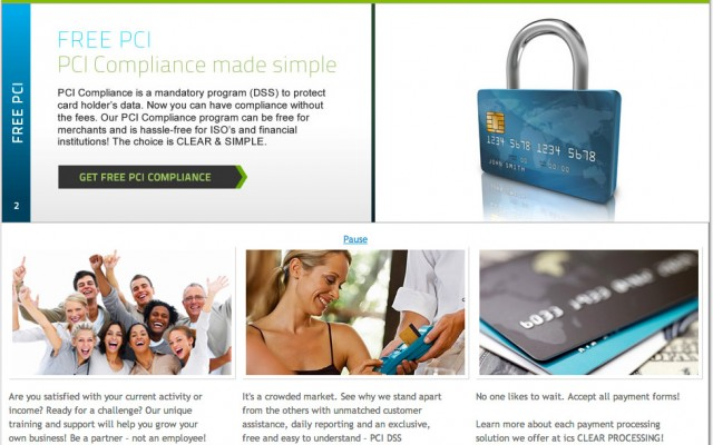 Web design and branding for ICS Clear
